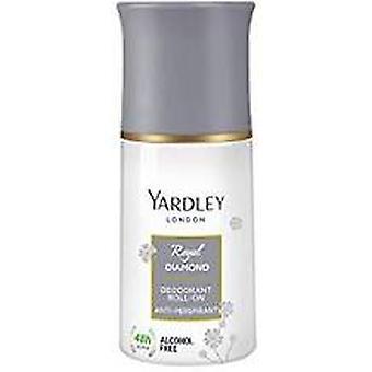 Yardley Royal Diamond deodorant roll op 50ml