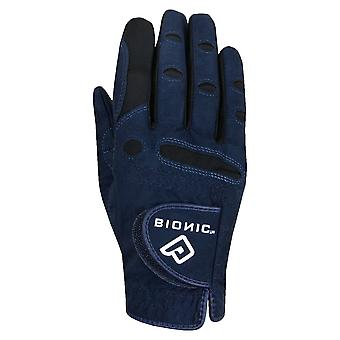 Bionic Womens AquaGrip Light Padded Suede Microfibre Golf Glove - RH