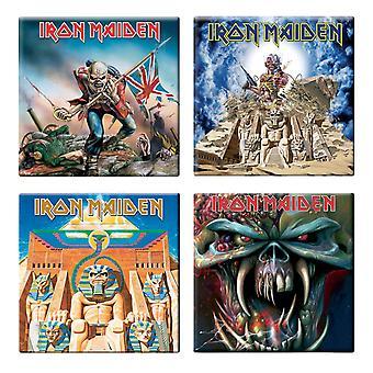 Iron Maiden 4 x Fridge Magnet Albums final frontier various designs new set