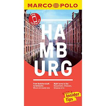 Hamburg Marco Polo Pocket Travel Guide  with pull out map