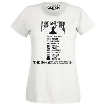 Viking wereld tour Womens t-shirt
