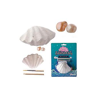 Pearl Sea Shell Fun Excavation Dig It Out Kit