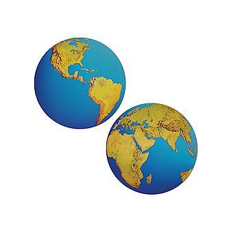 Planeet aarde knipsel decoratie
