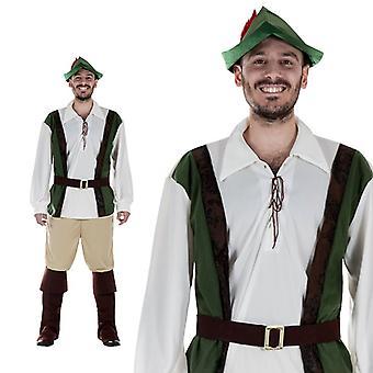Medieval castle Mr Hunter costume men
