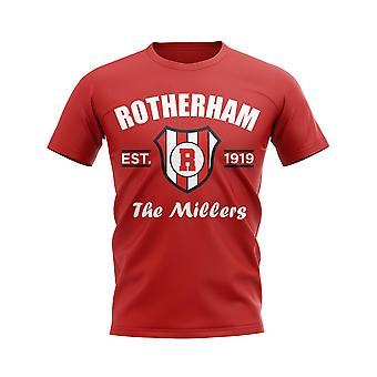 Rotherham Established Football T-Shirt (Red)