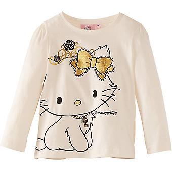 Oro di Sanrio Hello Kitty - Charmmy ragazze TopT-camicia a maniche lunghe