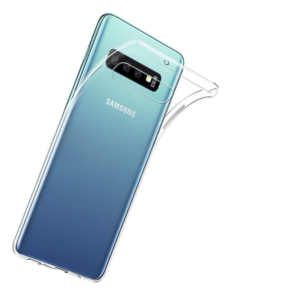iCoverCase | Samsung Galaxy S10 |  Transparent TPU Skal
