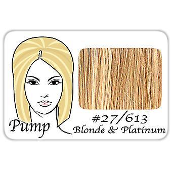 #27/613 tumma kultainen vaalea w/Platinum Highlights Pro pumppu