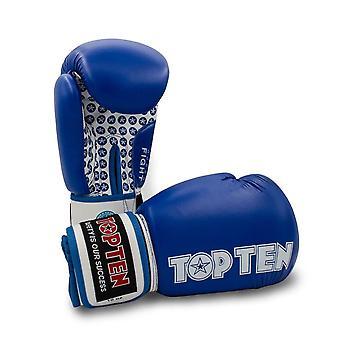 Top Ten lutte boxe gants bleu