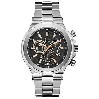 gc- quartz Analog Man Watch with Y23002G2 Stainless Steel Bracelet