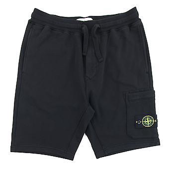 Stone Island 64651 Bermuda Shorts Black V0029