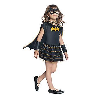 Batgirl drakt mini kjole opprinnelige Batgirlkostüm for barn