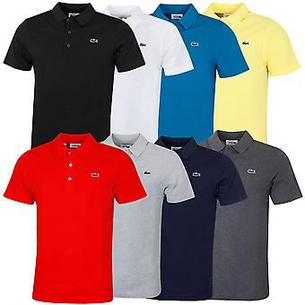 Lacoste Mens Sport Tennis Regular Fit Classic Super Light Cotton Polo Shirt
