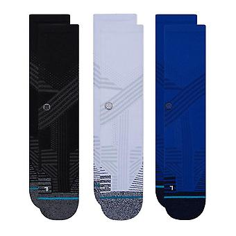 Stance Athletic 3 Pack Crew Socken in Multi