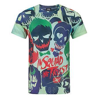 Suicide Squad Sublimatie Men's T-shirt