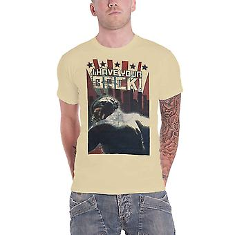 Official Bane T Shirt Batman Dark Knight I Have Your Back DC Comics Mens Beige