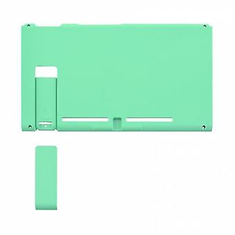 Housing shell for nintendo switch console back plate with kickstand soft touch - mint green | zedlabz