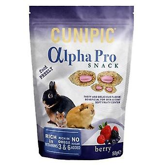 Cunipic Alpha Pro Snack Forest Fruits (Small pets , Treats)