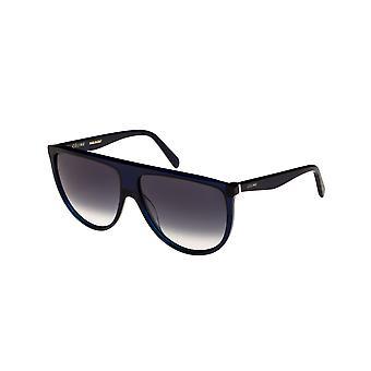 Celine Thin Shadow CL40006I 90B Shiny Blue/Gradient Blue Sunglasses