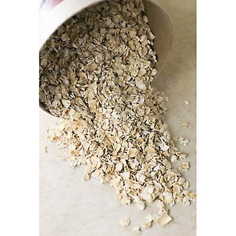 Organic Rolled Oats Quick Cook -( 22lb )