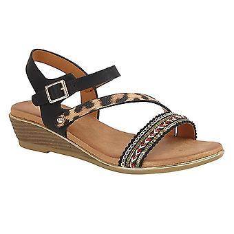Cipriata Womens/Ladies Fatina Wedge Sandals