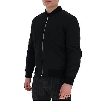 Loewe H2108900po1100 Men's Black Polyester Outerwear Jacket