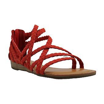 Carlos by Carlos Santana Womens Amara Fabric Open Toe Casual Gladiator Sandals