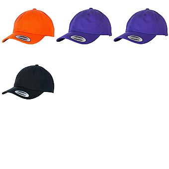 Yupoong Flexfit 6-panel Baseball Cap With Buckle (Pack of 2)