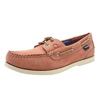 Chatham Marine Compass Ii G2 Men's Leather Boat Shoes In Terracotta