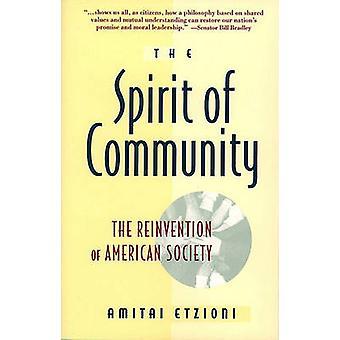 Spirit of Community by Etzioni & Amitai