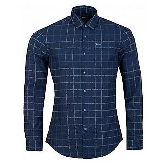 BOSS Bertillo Check Twill Shirt