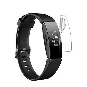 Fitbit Inspire / Inspire HR näytönsuoja TPU - vedenkestävä - 5pack