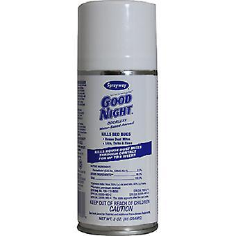 Sprayway god nat lugtfri dræber væggelus