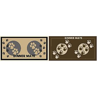 Pet Rebellion Mini Mate Pet Dinner Mat