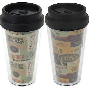 Dubbelwandige Koffie beker to Go