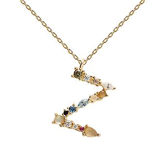Pdpaola Women's Letter Z Plated Necklace