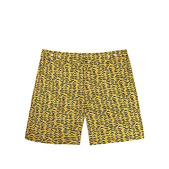 Benibeca Men's Tongariki Printed Swim Shorts