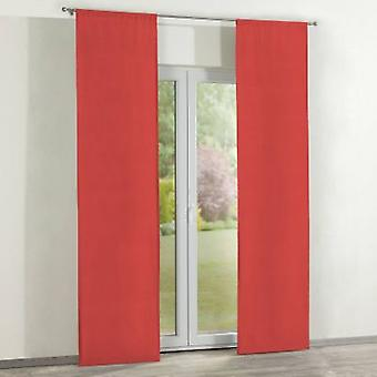 Oppervlakte gordijnen 2 pc's., rood, 60 x 260 cm, Loneta, 133-43