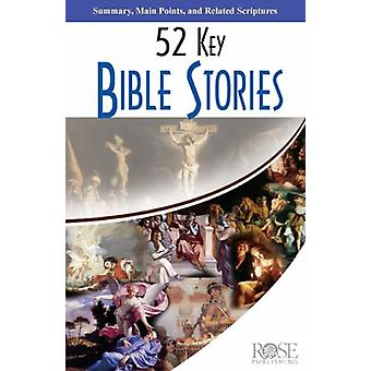5-Pack - 52 Key Bible Stories by Rose Publishing - 9781596363366 Book