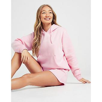 New McKenzie Women's Essential Overhead Boyfriend Hoodie Pink