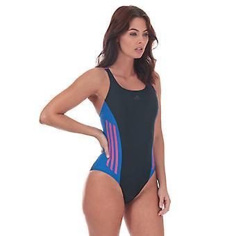 Women's adidas Colourblock Swimsuit in Blue