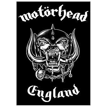 Motorhead Poster Warpig England Official New Black Textile Flag 70cm x 106cm