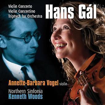 H. Gal - Hans G L: Violin Concerto; Violin Concertino; Triptych for Orchestra [CD] USA import