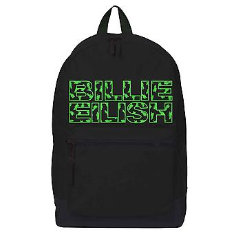 Billie Eilish Backpack Bag Bloshh Logo new Official Black