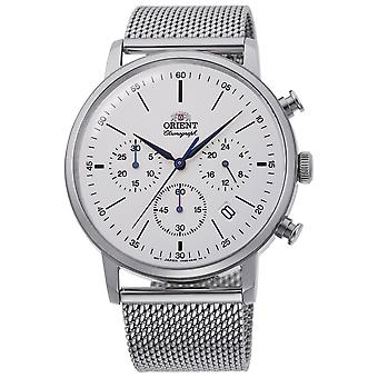 Orient Classic Watch RA-KV0402S10B - Stainless Steel Gents Quartz Chronograph