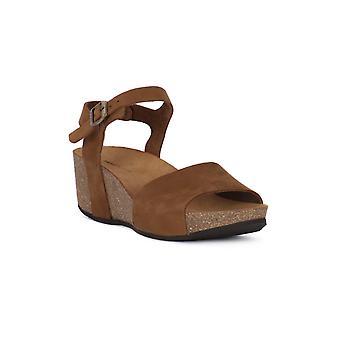 Frau Nubuck Sand Sandals