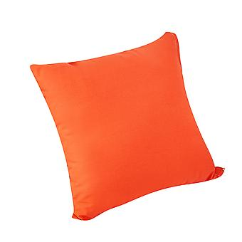 YANGFAN Soft Durable Cotton Solid Plain Dyed Square Pillowcase