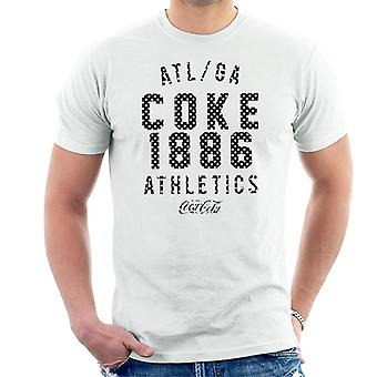 Coca Cola Coke 1886 atletiek mannen ' s T-shirt
