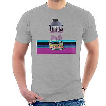 Pepsi 1940s kunt Glitch mannen T-Shirt