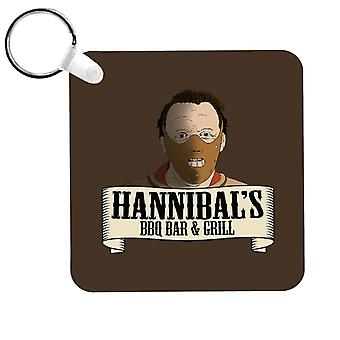 Hannibals BBQ Bar And Grill Keyring